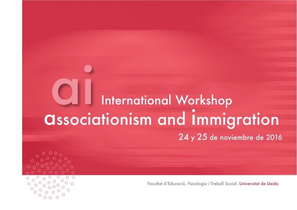 Workshop Associationism and Immigration (Lleida, 2016)